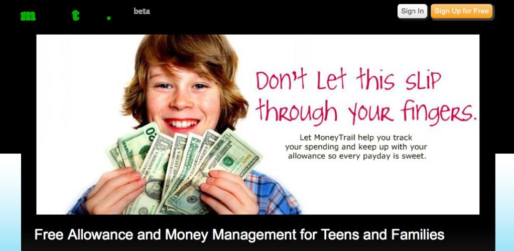 MoneyTrail.net: Allowance Management Tool