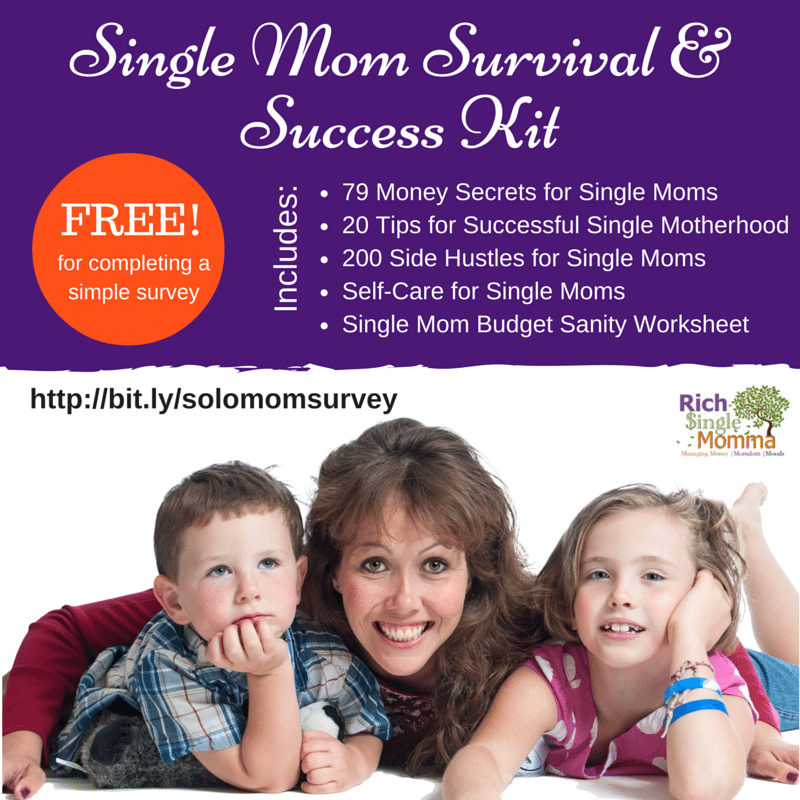 Single Mom Survival and Success Kit Single Mom Freebies
