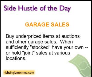 Side Hustle of the Day: Garage Sales