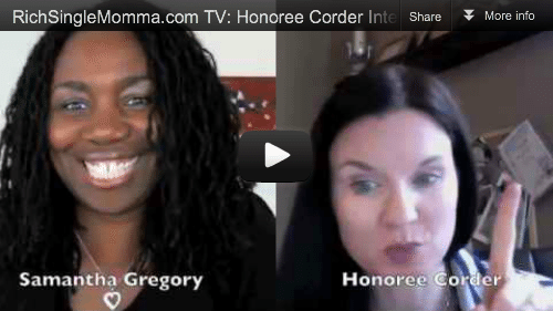 Secrets to Successful Single Motherhood: Interview w/ Author & Coach Honoree Corder