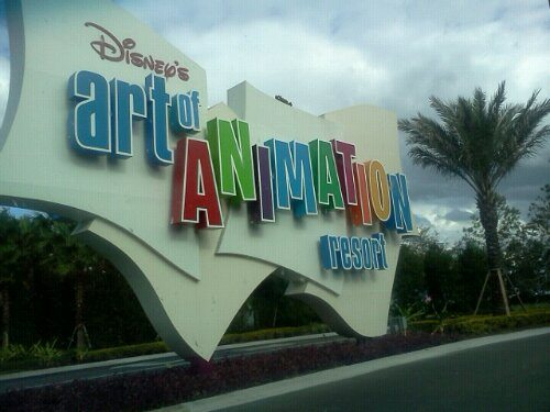 Art of Animation Resort at Disney World
