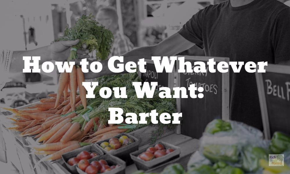 How to Get Whatever You Want: Barter