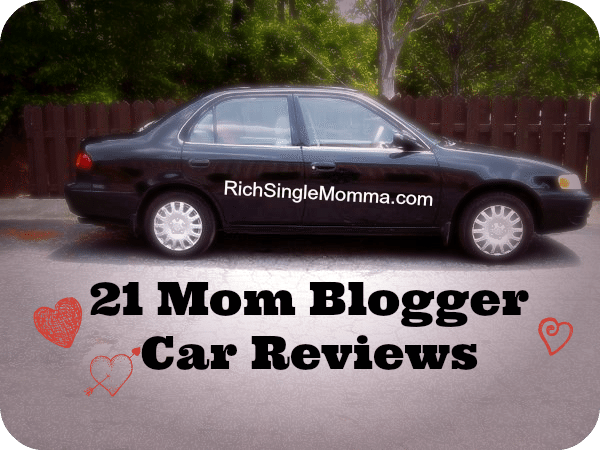 21 Car Reviews: A Roundup of Mom Bloggers Testing Cars