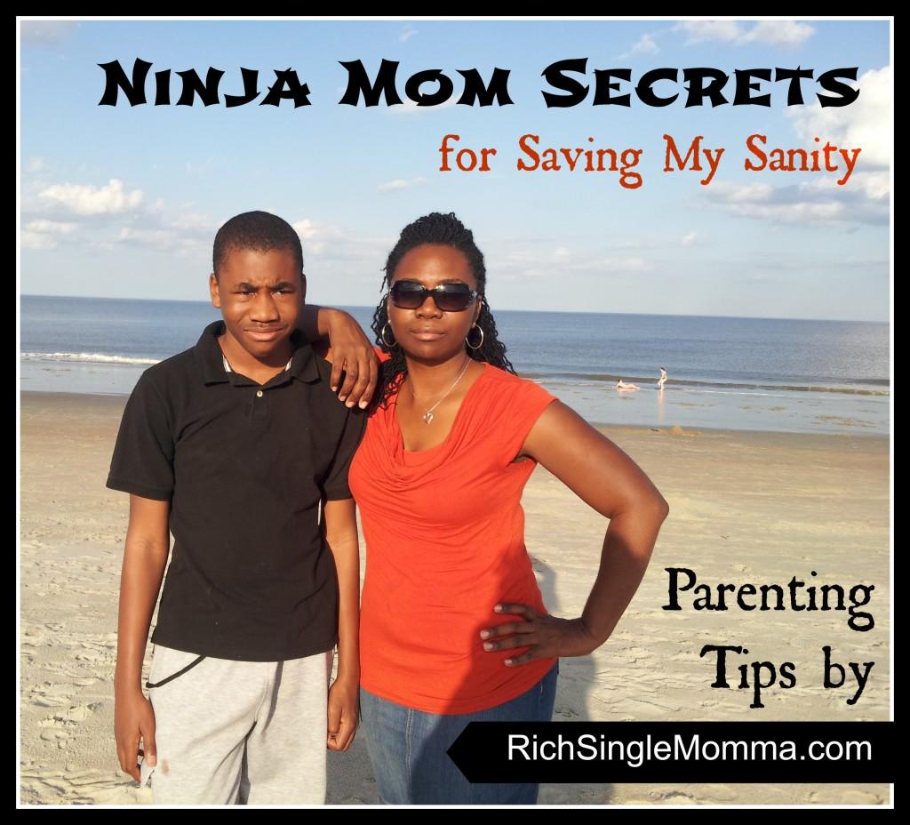 RichSingleMomma.com Ninja Mom Secrets