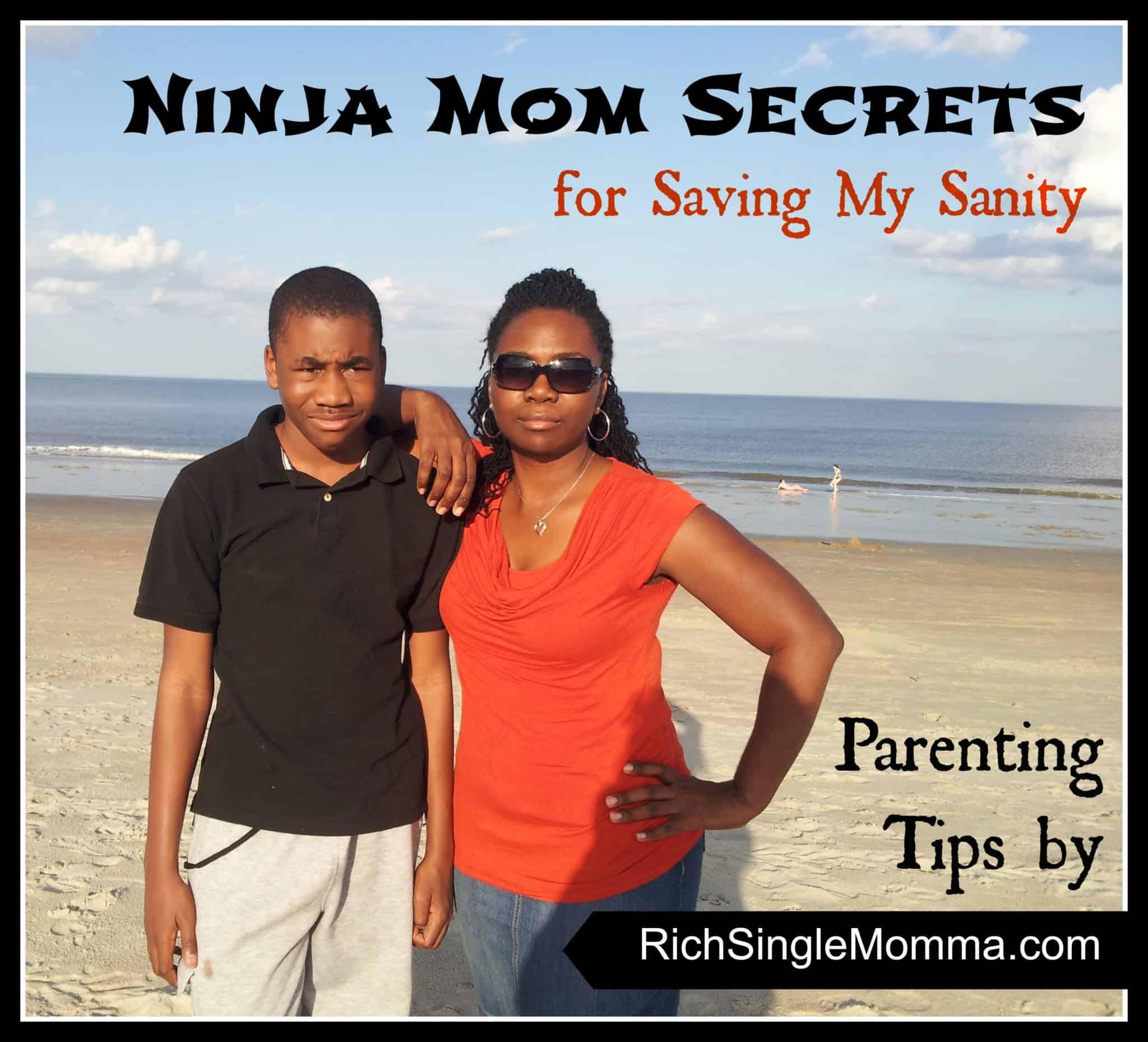 How My Ninja Mom Moves Saves My Sanity