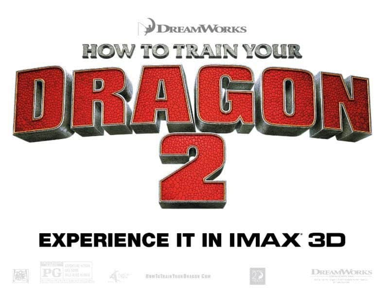 How to Train Your Dragon 2 in IMAX Friday