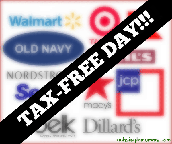 Georgia Tax-Free Day This Weekend