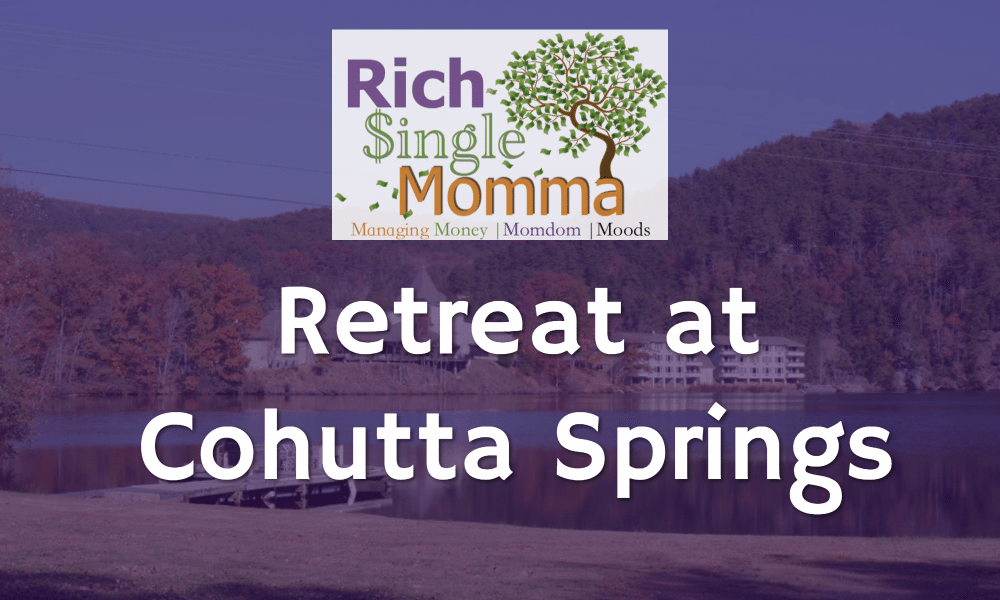 Rich Single Momma Retreating at Cohutta Springs