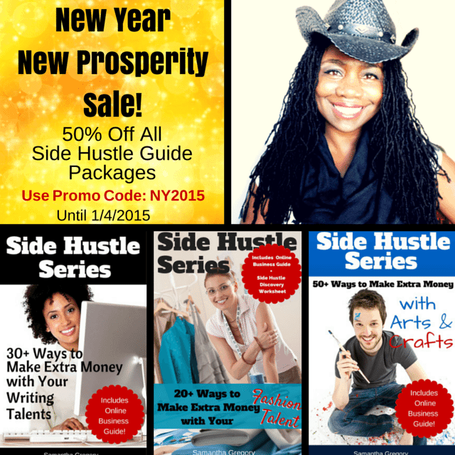 Side Hustle Guide New Years Sale