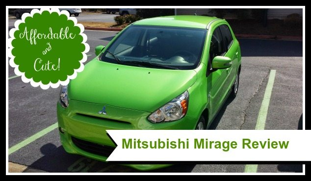 [Affordable Cars for Single Moms] Mitsubishi Mirage