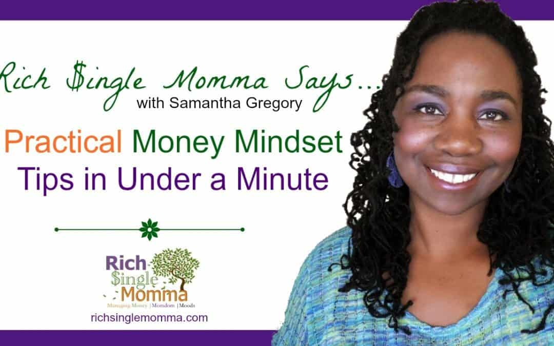 Vlog: Rich Single Momma Says… How to Stop Worrying About Money