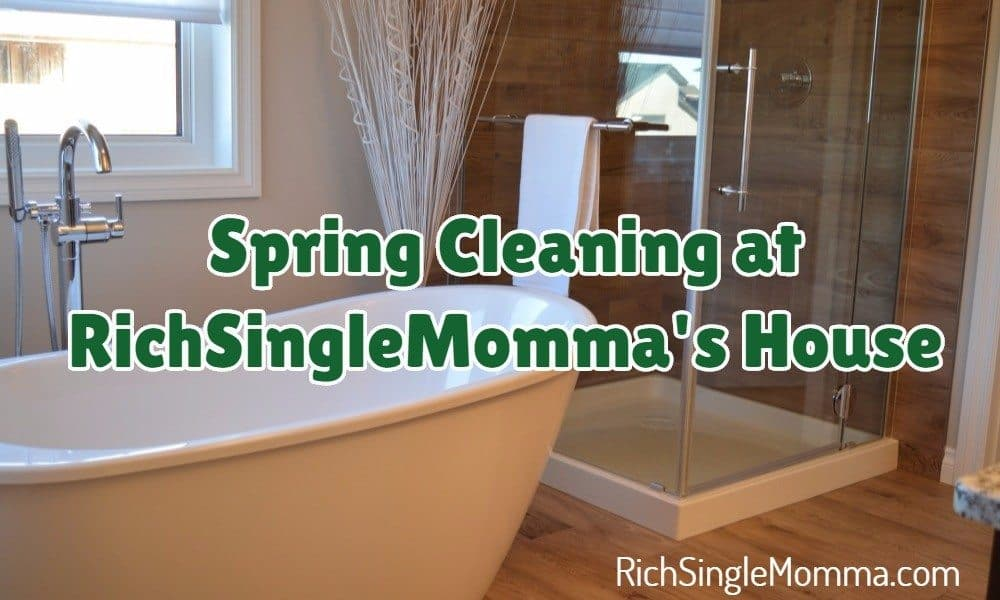 Spring Cleaning at RichSingleMomma's House