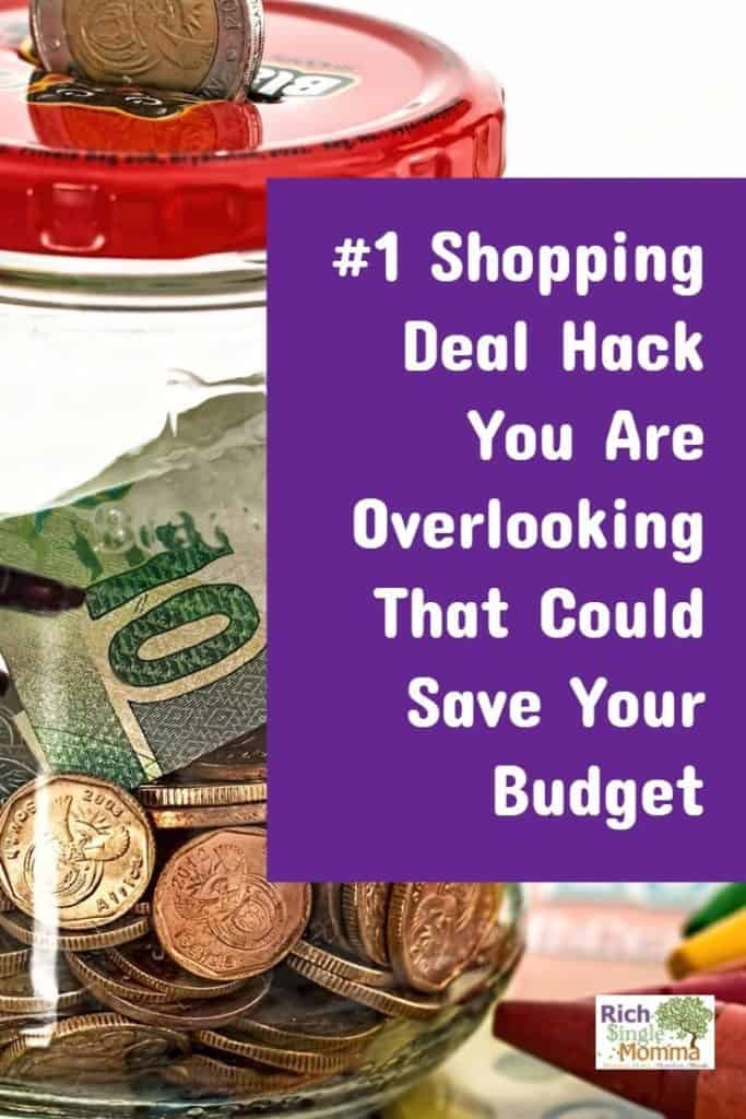 #1 shopping deal and hacks to save your budget
