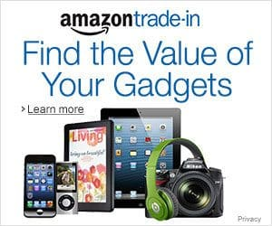 make quick cash with Amazon Trade-in program on small electronics, games, and books to make money quickly