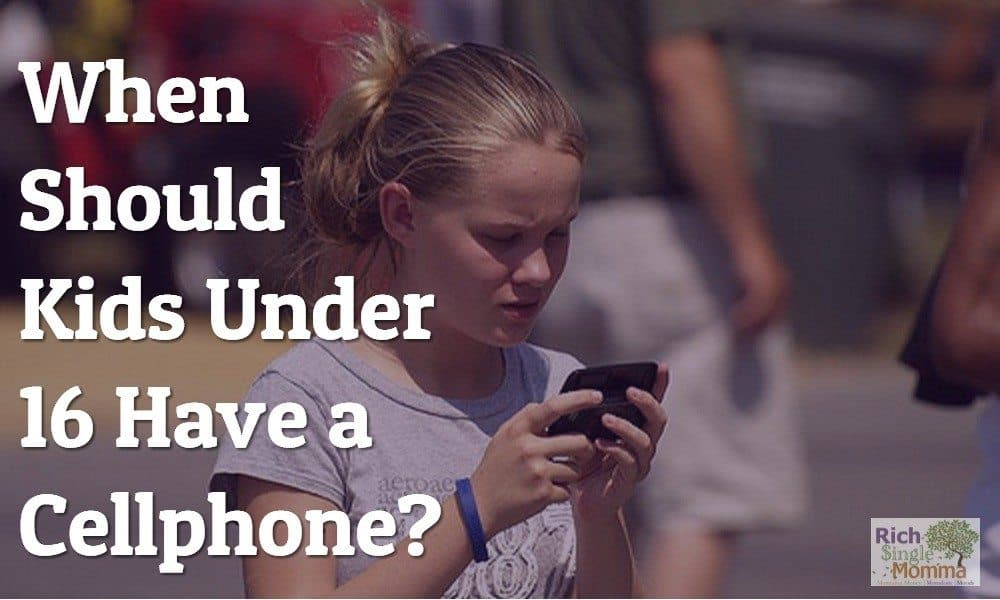 When Should You Give Kids Cellphone?