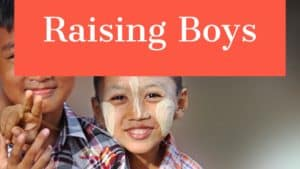 single mom raising boys
