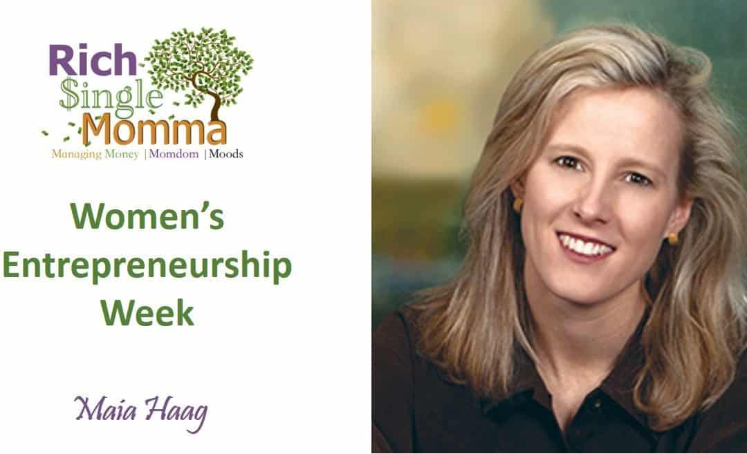 Women Entrepreneurs Week – Maia Haag