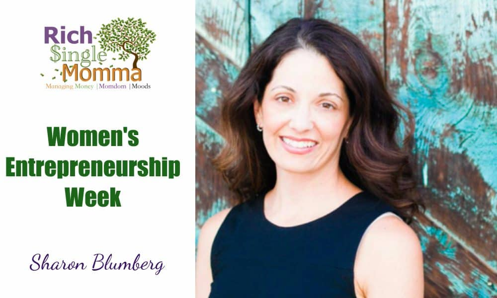 Women Entrepreneurs Week – Sharon Blumberg