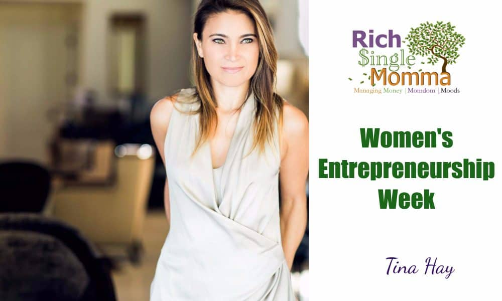 Women Entrepreneurs Week – Tina Hay