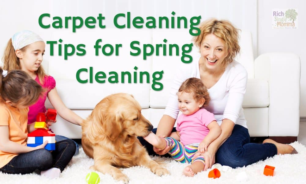 Carpet Cleaning Tips for Spring Cleaning