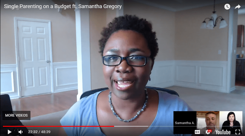 [Video] – Single Parenting on a Budget Experian #CreditChat